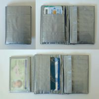 Tri-fold Duct Tape Wallet by geektechnu