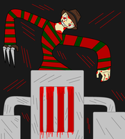 Freddy Krueger by 115spartan