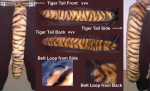 Commish - Fat Tiger Tail by NecoStudios