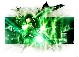 Green Lantern by JohnBeuren