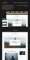 TimeLess Clean Personal WordPress Blog Theme by begha