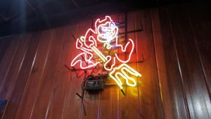 Sparky Neon Sign by BigMac1212