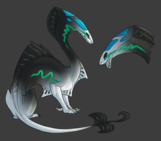 Bladed Thing Species Auction - Closed by Onyxeva