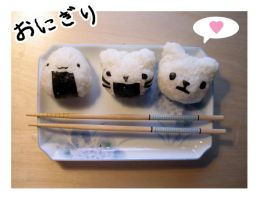 Onigiri Club. by PeterPan-Syndrome