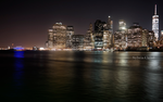 NYC night view 001 by Ajandra