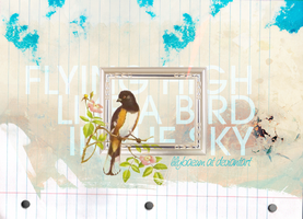 Like a Bird in the Sky by lilybaeum