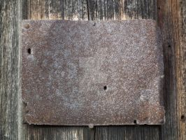Metal Plate Old by Limited-Vision-Stock