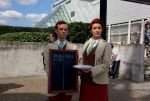 MCM Expo May 2013: Lutece Twins by HideBehindTheMask