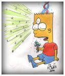 Psilocybe Bart and his third Eye by ganjatime