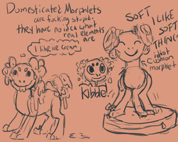 Domesticated morphlets are really fucking stupid by weepysheep