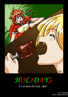 Holidays equals FOOD by Darkbutterfly137