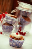 Red Currant Muffins by DarkPati