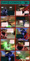 AWG Comics Issue 4 by GameKeeperX