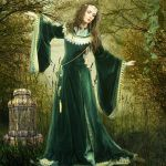 Morgause by Scarlettletters