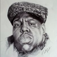 Notorious B.I.G. Becpen by NesterYaDig