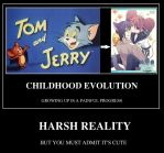 Tom and Jerry Evolution by weigazod