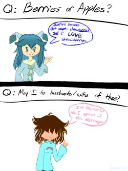 Ask Little Glace! #2 by Glaceon1o1