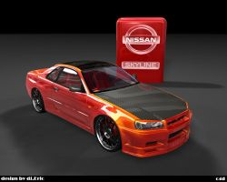 skyline gtr final by 3DEricDesign