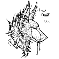 Free-To-Use: How Dare You. by MischievousRaven