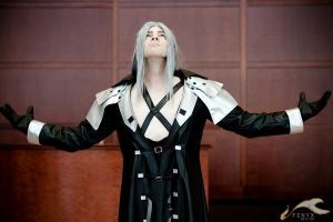 FFVII: Sephiroth + Cloud 04 by elysiagriffin