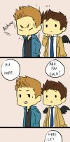 Destiel strip by ShaYepurr