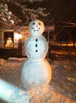 My Snowman by willow1894