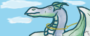 Just a Simple Looking Dragon by siannajmj