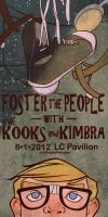 Foster the People Poster by kasandramurray
