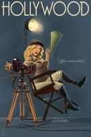 Hollywood Pinup by AlixBranwyn