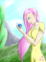 My take on a scene from MLP:FiM S01EP10 by Cephalin