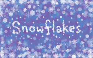 animated snowflakes brush for GIMP by mesilliac
