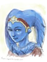 Vette - the thieving slave Swtor fan art by rum-inspector
