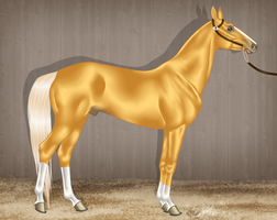 Gleaming Gold by Ehetere