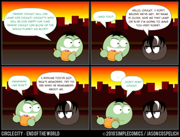 CC433 - End of the World 33 by simpleCOMICS