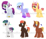 Collab Adopts [Open!] by Fluffle-Muffins