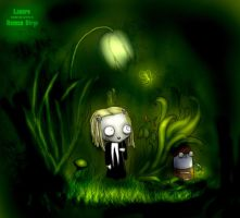 Lenore in forest by LenoreLovers