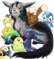 Pokemon by evecat05