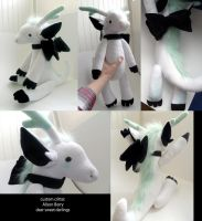 custom dragon critter plushie by gurliebot