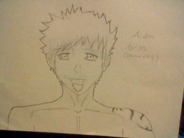 OC Aiden Yamanuchi Age 35 by KeybladeWarrior666