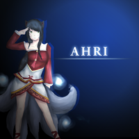 League of Legends - Ahri by xKokoro