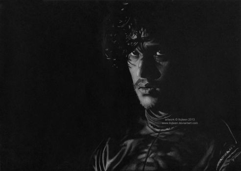Jon Snow (Kit Harington) by Ilojleen