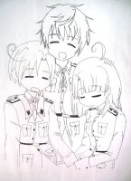 Hetalia *An Old Drawing* by Fantashii