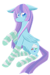 Icy Melody Transparent by CelestialBunny