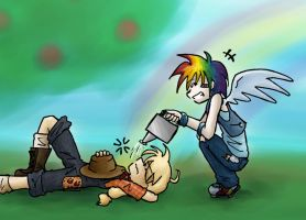 AppleDash: Wake Up Call by melidichan