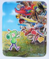 Katamari Collage Case by Lithe-Fider