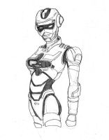 Lady Space Sheriff Concept by Onore-Otaku
