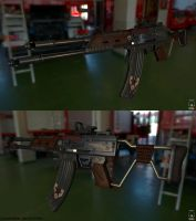 Realistic VLADOF Assault rifle by CougarJo
