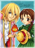 Howl's moving castle by attaC