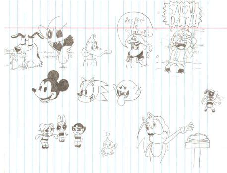 Doodle Page 2 by lnsert-creative-name