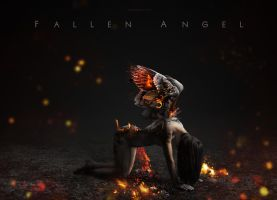 Fallen Angel by AkaSling